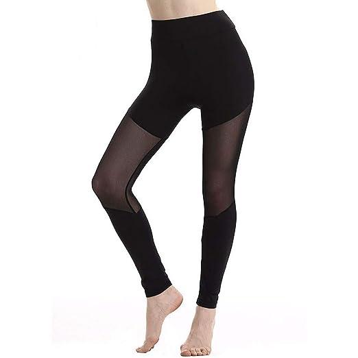 45a96ccb12fbd8 Sharemen Women Fitness Yoga Pants Sport Running Leggings Breathable  Patchwork Cute Heart Mesh Women Fitness Slim