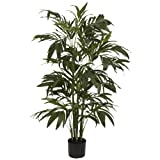 Nearly Natural 5327 Bamboo Palm Silk Tree, 4-Feet, Green