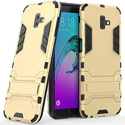 Amazon.com: Carcasa híbrida para Samsung Galaxy J6 Plus ...