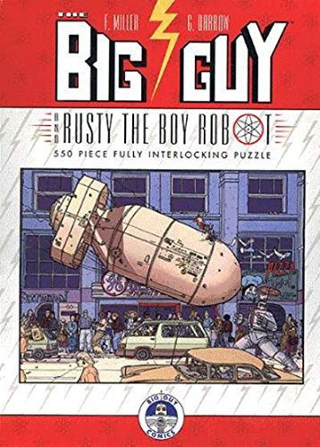 (10x14) Big Guy And Rusty The Boy Robot Jigsaw Puzzle