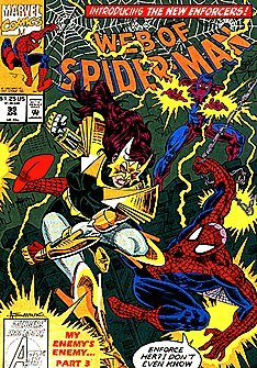Web of Spider-Man #99 Direct Edition First Appearance of Nightwatch -