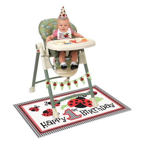 1 X LIVELY LADYBUGS HIGH CHAIR KIT