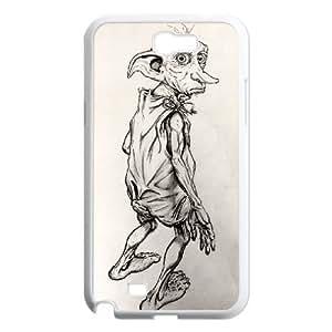 Dobby Samsung Galaxy N2 7100 Cell Phone Case White Gift pjz003_3310056