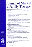img - for Journal of Marital & Family Therapy (October 2001, Volume 27, Number 4) book / textbook / text book