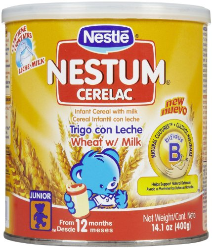 Nestum Baby Cereal - Cerelac Wheat - 10.6 oz