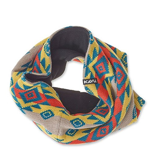 KAVU Women's Willa Neck Tube Scarf, Southwest, One Size