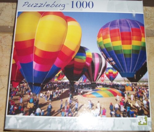 1000 Piece Puzzle Hot Air Balloons