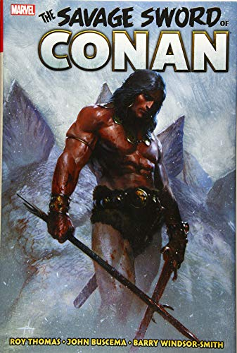 Book cover from Savage Sword of Conan: The Original Marvel Years Omnibus Vol. 1 by Roy Thomas