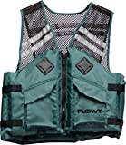 Flowt 40625-S/M Mesh Fishing Adult Life Vest Type III PFD, Green, Small / Medium Review