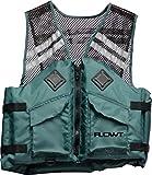 Flowt 40625-S/M Mesh Fishing Adult Life Vest Type III PFD, Green, Small / Medium Review