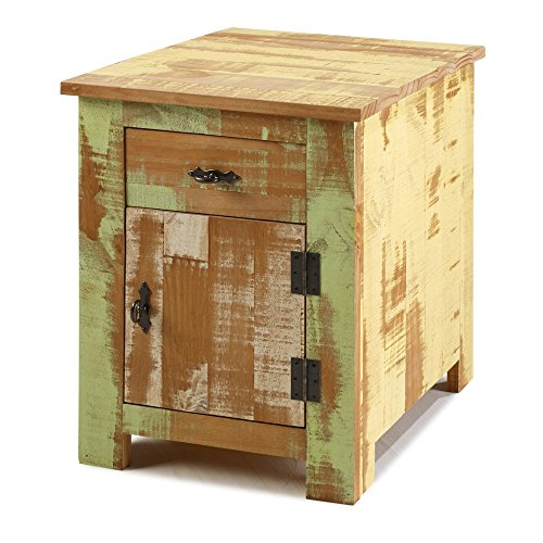Reclaimed Accent Cabinet Solid Wood Distressed Color by The Beach House Design (Image #7)