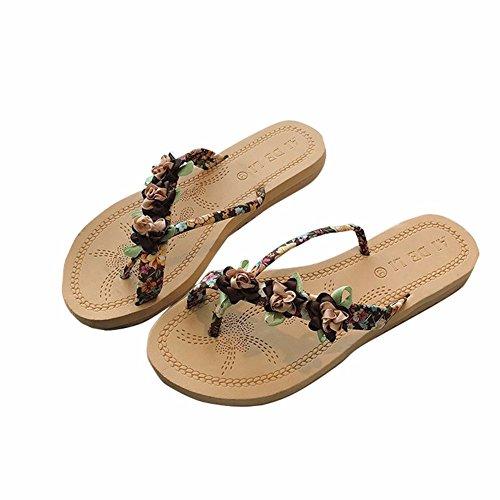 Femmes Plage D'Antidérapage Ka de en Été Chaussures Simple Plat YUCH Chaussures Fond d8qdx0