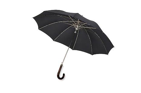 Knirps Parasol Paraguas bastón Long AC black
