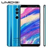 Umidigi A1 Pro - Dual 4G LET Smartphone 18:9 Full Screen 3GB+16GB 3150mAh Android 8.1 Face ID MT6739 Blue
