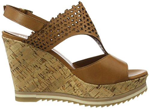 Bprivate E1004x Ladies Open Sandalo Beige (cuoio)