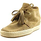 MICHAEL Michael Kors Women's Kendrick Lace-Up Wedge Desert Sport Suede Boot 6 M