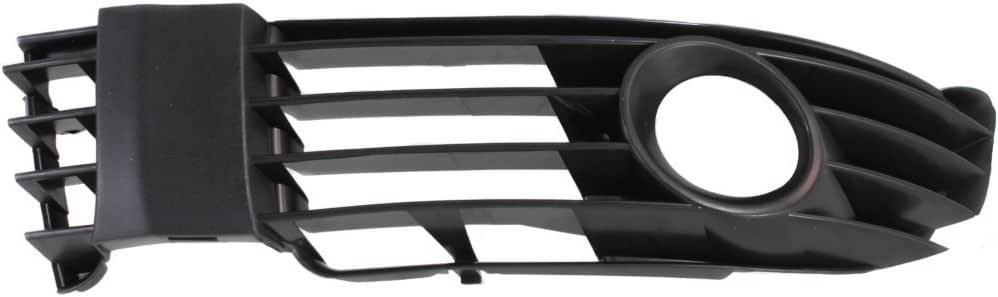 VW PASSAT B5.5 01-05 FRONT BUMPER PRIMED MOLDING TRIM WITH CHROME TRIM RIGHT