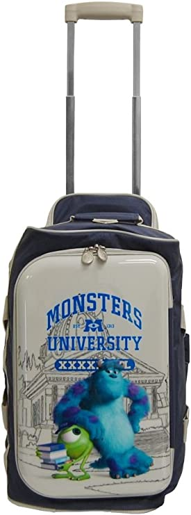 "Monster U Univercity Luggage 18"" Rolling Duffel Travel Bag"