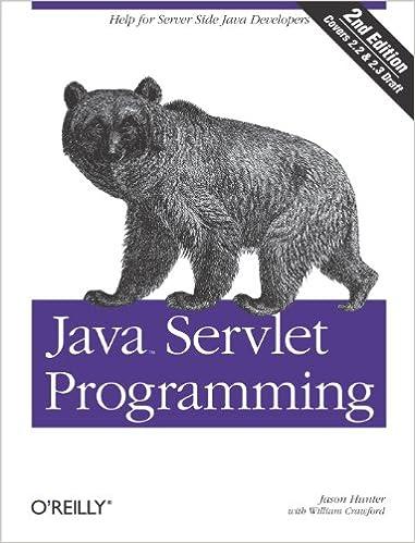 Amazon com: Java Servlet Programming: Help for Server Side
