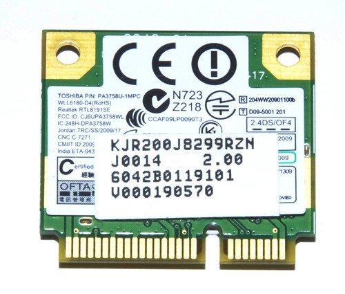 Toshiba Satellite A505 Wifi Wireless Card V000190580