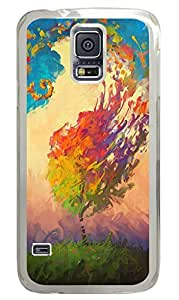 Brian114 Samsung Galaxy S5 Case, S5 Case - Fashion Crystal Clear Hard Case for Samsung Galaxy S5 Color Hurricane Waterproof Back Hard Case for Samsung Galaxy S5 I9600