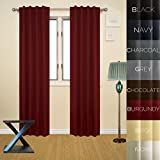Best Home Fashion Thermal Insulated Blackout Curtains   Back Tab Rod Pocket   Blacks - Prestige Home Fashion Thermal Insulated Blackout Curtain Review