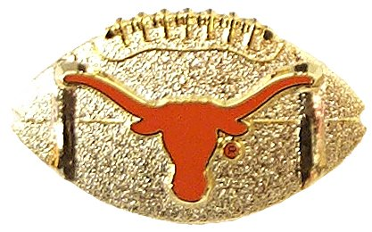 aminco NCAA Texas Longhorns Helmet PinHelmet Pin, Team Color, 4 (Texas Pins Longhorns)