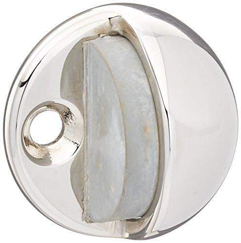 (Baldwin Hardware Floor Type Bumper Half Dome Door Stop )