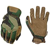 Mechanix Wear FastFit Woodland Camo Tactical Touch Screen Gloves (Medium, Camouflage)