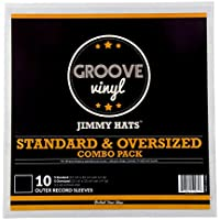 Combo Pack Premium Outer Record Sleeves For 12 Inch Vinyl Records (10 Pack)