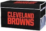 Franklin Sports NFL Folding Storage Footlocker Bins - Official NFL Team Storage Organizers - Collapsible Conta