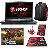 MSI GP72X Leopard Pro-622 Select Edition (i7-7700HQ, 32GB RAM, 480GB NVMe SSD + 1TB HDD, NVIDIA GTX 1050Ti 4GB, 17.3 Full HD, 120Hz, Windows 10) Gaming Notebook