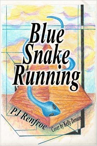Blue Snake Running