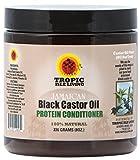 Castor Oil Hair Treatment Tropic Isle Living- Jamaican Black Castor Oil Protein Hair Conditioner-8oz
