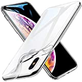 ESR Slim Clear Soft TPU Case for iPhone Xs/ iPhone X, Soft Flexible Cover Compatible for 5.8 inch(2017 & 2018 Release)(Jelly Clear)