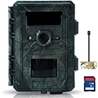 Bestok Deer Hunting Cames Wireless Game Cameras with Night Vision Outdoor Cam Wildlife Scouting in Different Environment Tough Matertial Waterproof IP65 Protected Trail Cameras