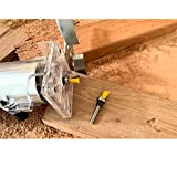 Dovetail Router Bit 1/4 Inch Shank 1/2 & 5/8 Inch