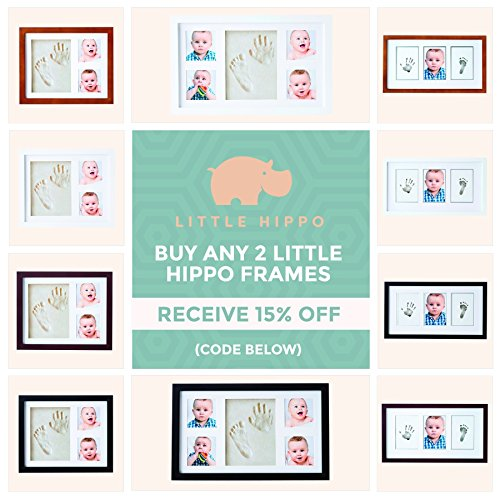 Little Hippo Baby Footprint Amp Handprint Kit Baby Picture