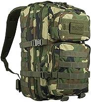 Mil-Tec Molle Backpack Bag 20L Woodland Camo