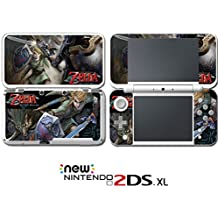 Legend of Zelda Twilight Princess Video Game Vinyl Decal Skin Sticker Cover for Nintendo New 2DS XL System Console