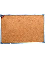 Cork Board Size 45x60 cm with Aluminum Frame