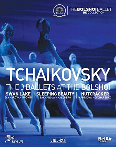 Tchaikovsky: The 3 Ballets at the Bolshoi (3PC)