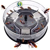 Henslow Patent Latest Invention Intelligent and Effective Cockroach Trap Capture All Kinds of Roaches Non-Toxic and Eco-Friendly.(Circular)
