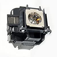 Epson EX7220 Projector Housing w/ High Quality High Quality Projector Bulb