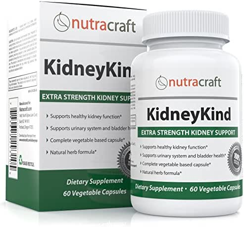 #1 Kidney Support and Detox Supplement - Natural Kidney Cleanse and Bladder Care Formula for Kidney and Urinary Health - With Buchu, Juniper, Uva Ursi, Cranberry & Nettle Leaf - 60 Vegetable Capsules