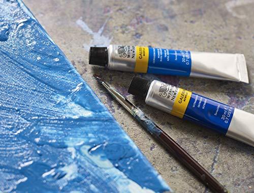 Winsor & Newton Galeria Acrylic Paint, 60-ml Tube, Cadmium Yellow Deep Hue, 2 Fl Oz