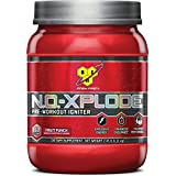 BSN N.O.-XPLODE Pre-Workout Supplement with Creatine, Beta-Alanine, and Energy, Flavor: Fruit Punch, 60 Servings 2.45 lbs