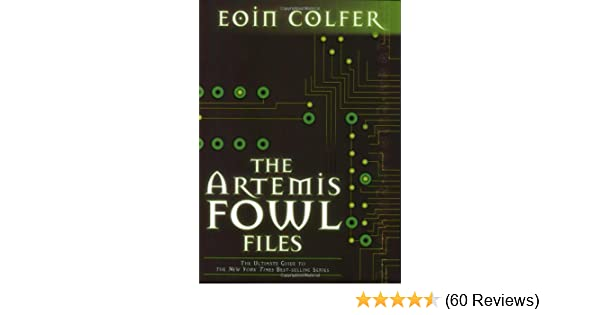 Artemis Fowl Files Pdf
