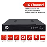 JOOAN 16CH CCTV Security DVR Recorder P2P Cloud Remote Digital Video Recorder Surveillance Mainframe H.264 No Hard Drive