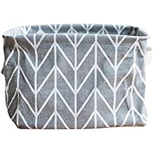 Daoroka Storage Bins Foldable Colors Storage Bin Closet Toy Box Container Organizer Fabric Basket